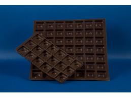 Bandeja Chocolate 15 cav. 177x108 mm.