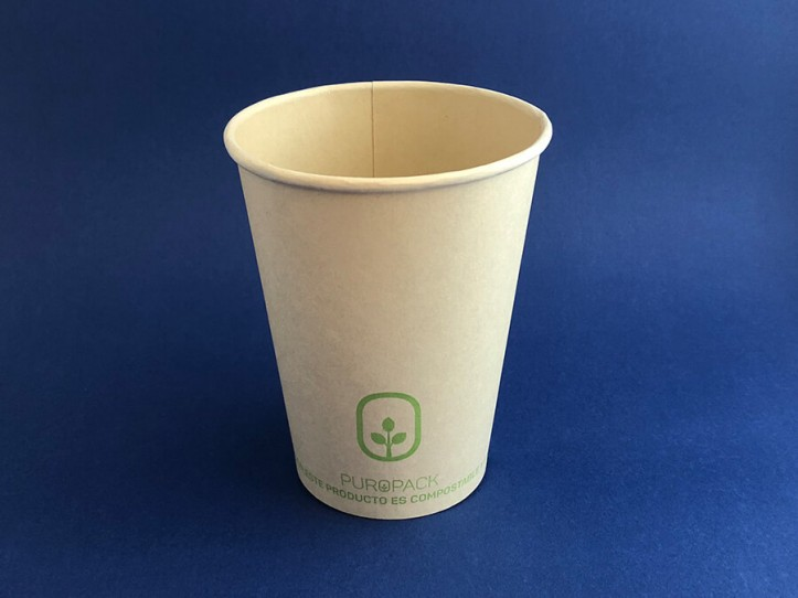 Vaso Compostable Bamboo PLA 8 oz (1x1000u)
