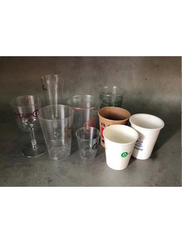 Vasos polipapel impresos para cafe