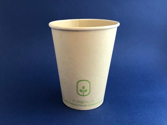 Vaso Compostable Bamboo PLA 12 oz (1x1000u)