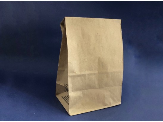 Bolsa Papel Delivery fondo cuadrado XL (1x500u)