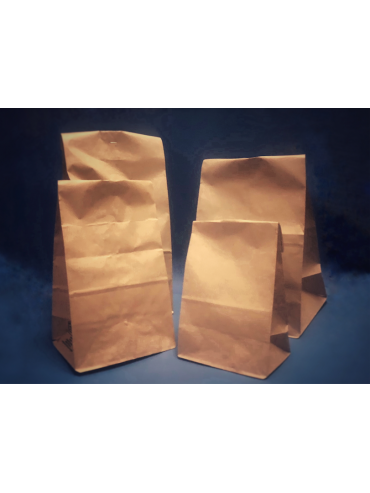 Bolsa Papel Delivery fondo cuadrado M (1x500u)