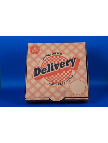 Caja Pizza Mediana 32X32,5X4,1 (1X50 Unidades)