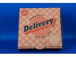 Caja Pizza Grande 38x39x4,5 (1x50 unidades)
