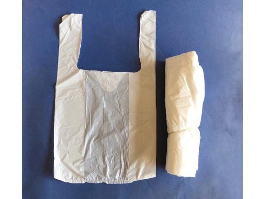 Bolsa Camiseta Blanca 28 x 35 cm. (1x1000u)