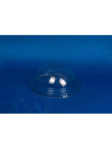 Tapa Domo Vaso Transparente 16oz (480 cc) sin perforacion (1x1000u)