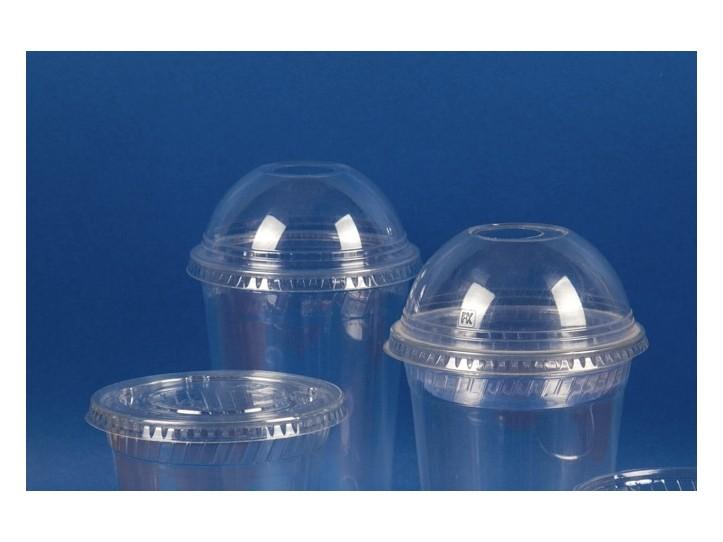 Tapa Domo Vaso Transparente 16oz (480 cc) s/perforacion (1x1000u)