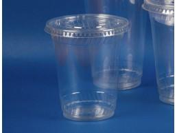 Tapa Plana Vaso Trasparente 9, 12 y 20 oz (sin perforacion) (1x1000u)