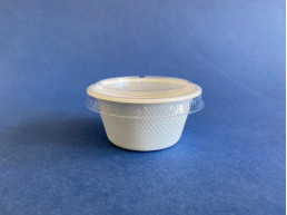 Pocillo Bio Compostable 2oz con tapa (1x2000u)