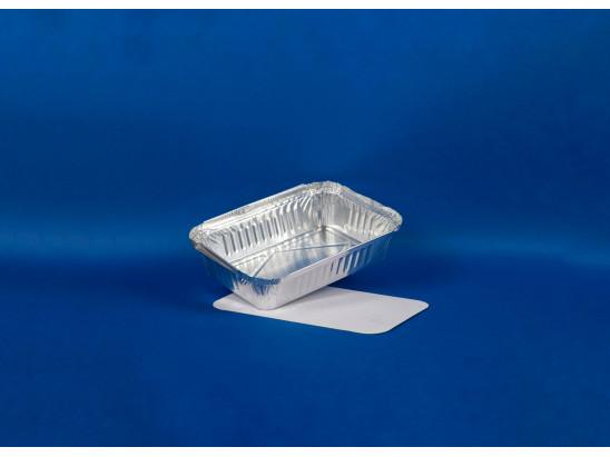 Bandeja Aluminio Rectangular C10 con Tapa (1x1500u)