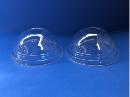 Tapa Domo Vaso Transparente 9,12, 20oz c/perforacion (1x1000u)