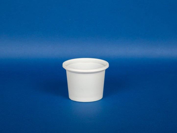 Vaso Blanco 120 cc.(1x2720u)